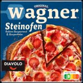 Original Wagner Steinofen Pizza Diavolo scharf 350g