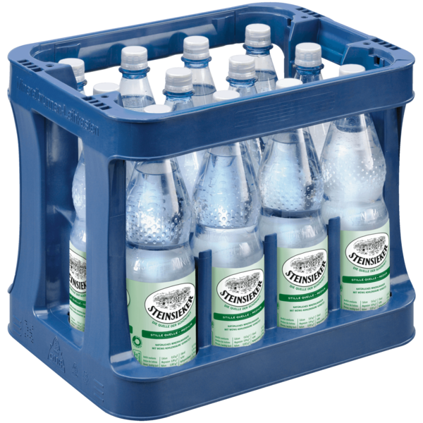 Steinsieker Mineralwasser Stille Quelle Medium 12x1l