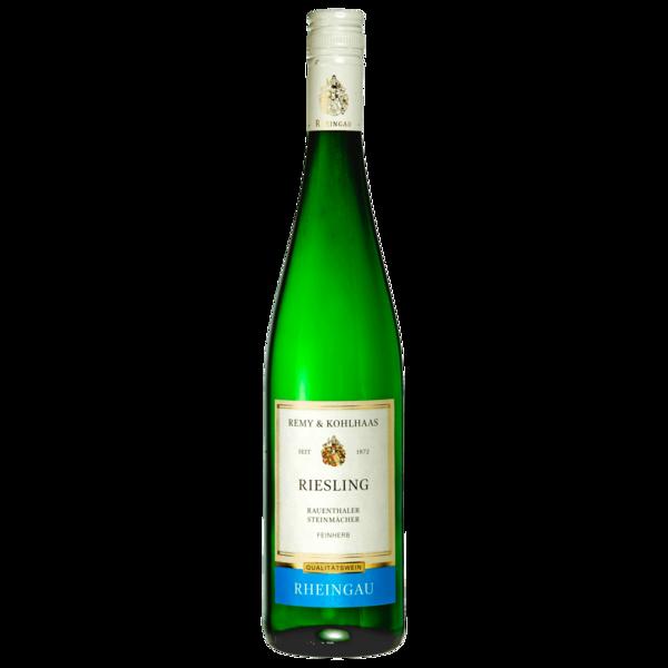 Rheingau Weißwein Riesling Qualitätswein feinherb 0,75l
