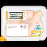 Wilhelm Brandenburg Frische Hähnchenschenkel mit Rückenstück 2 Stück à 300g