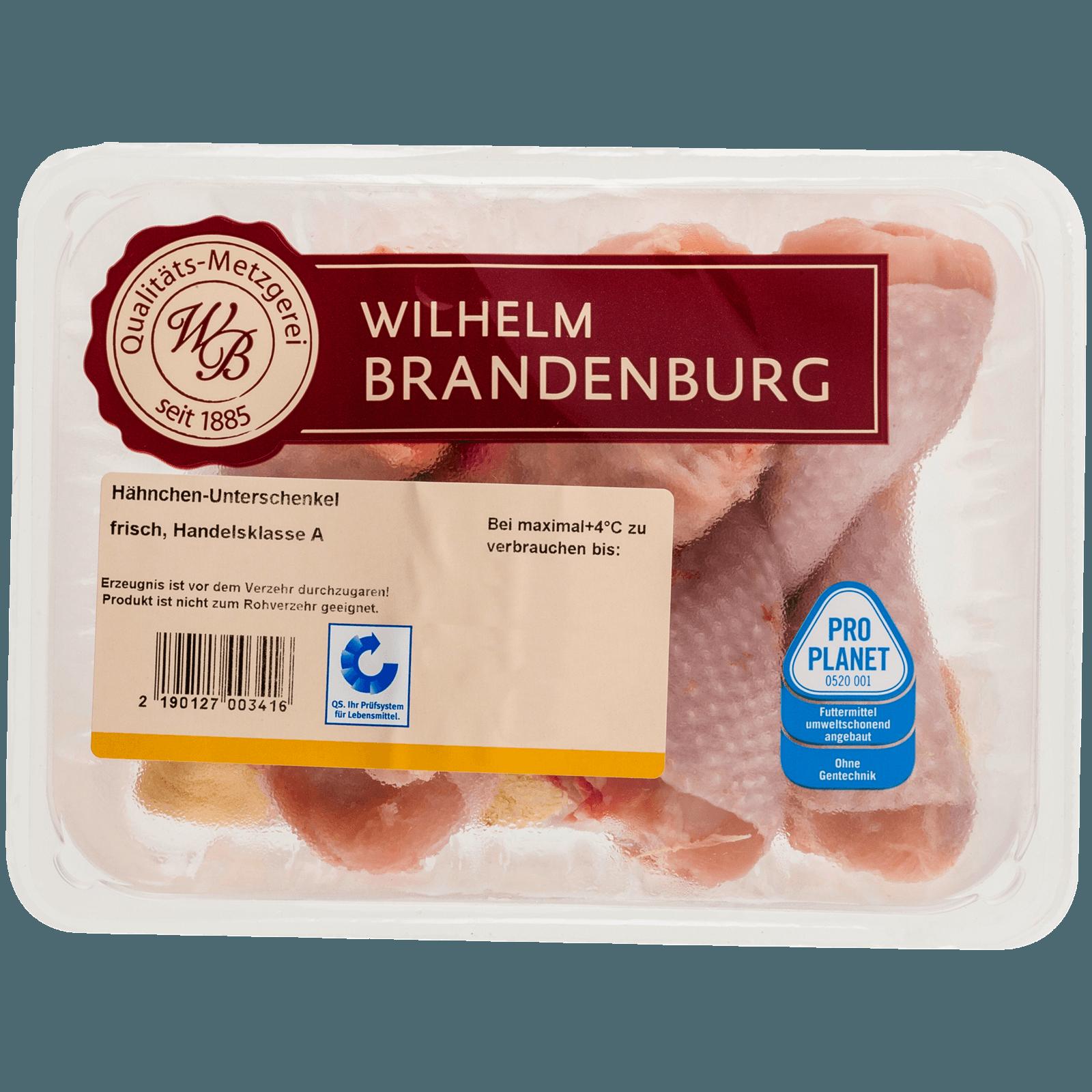 Wilhelm Brandenburg Frische Hähnchen Unterschenkel 6 Stück (ca. 600g)