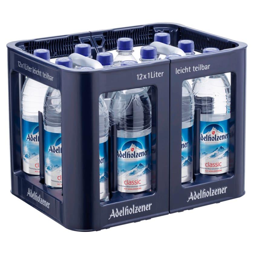 Adelholzener Mineralwasser Classic 12x1l