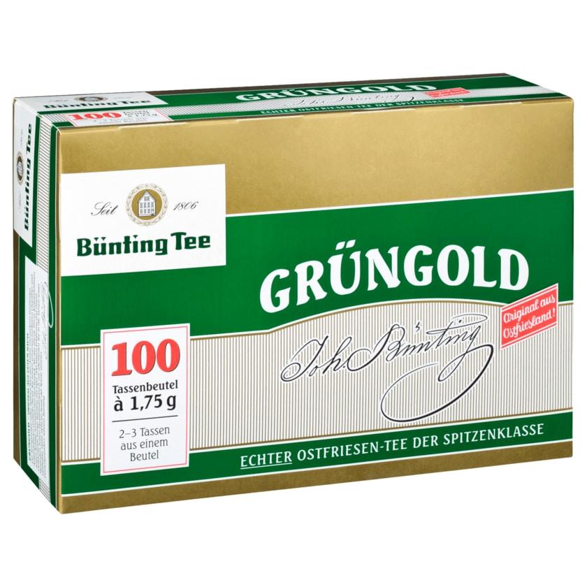 Bünting Tee Grüngold 175g, 100 Beutel