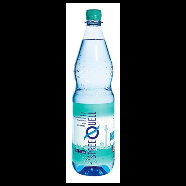 Spreequell Mineralwasser Medium 1l