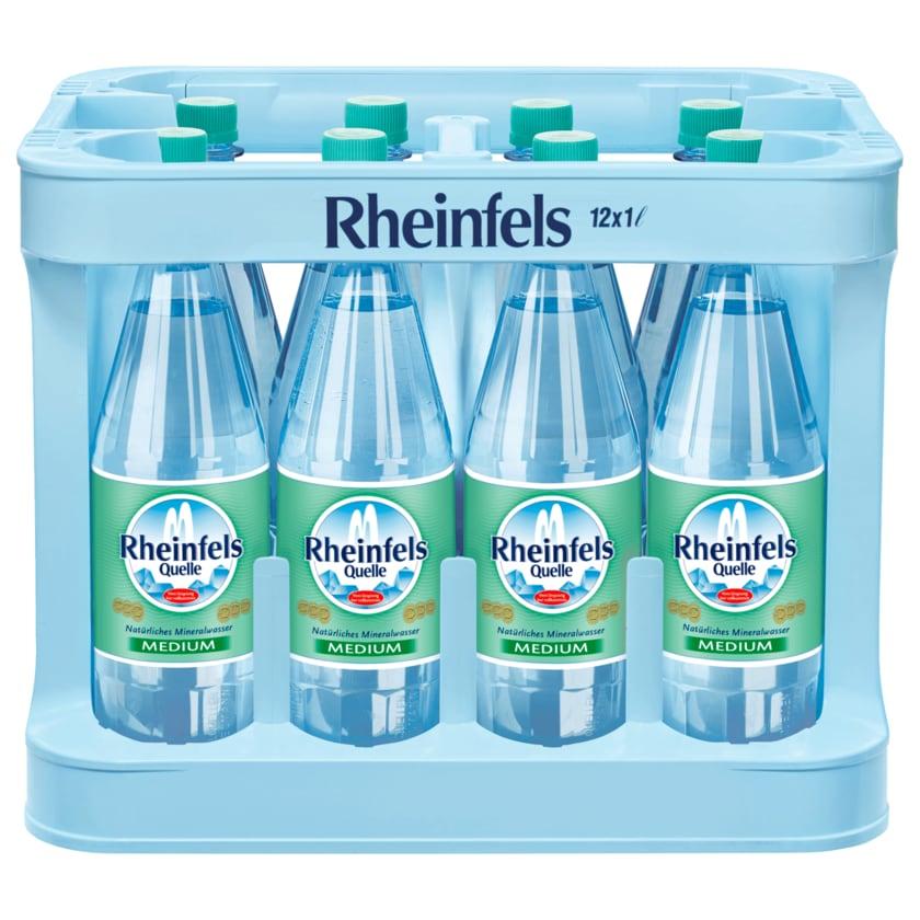 Rheinfels Quelle Medium 12x1l