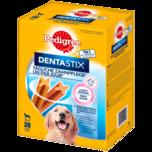 Pedigree Hundesnack Dentastix tägliche Zahnpflege für große Hunde 28 Stück