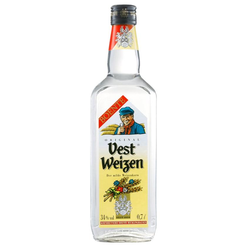 Boente Vest Weizen Korn 0,7l