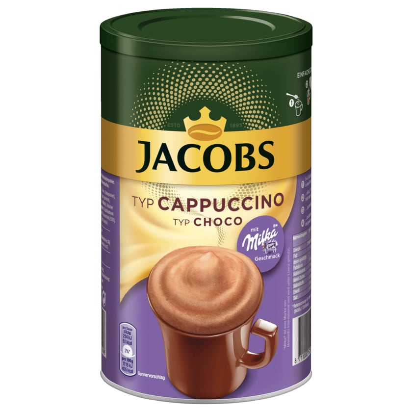 Jacobs Momente Choco Cappuccino Milka 500g