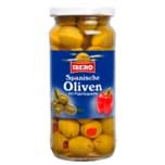 Ibero Grüne Oliven mit Paprikapaste 135g