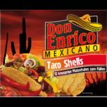 Don Enrico Taco Shells 135g