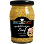 Maitre Marcel Grobkörniger Senf mittelscharf 200ml