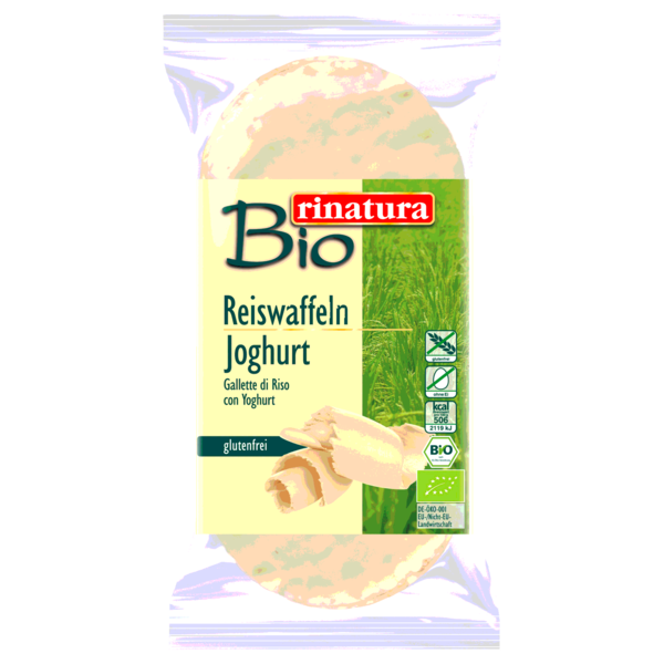Rinatura Bio Reiswaffel Joghurt 100g