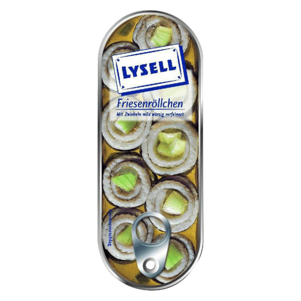 Lysell Friesenröllchen 125g