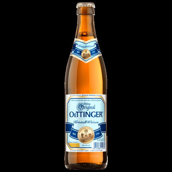 Original Oettinger Kristallweizen 0,5l