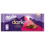 Milka Dark Milk Schokolade Himbeere 85g