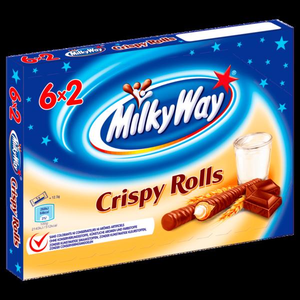 Milky Way Crispy Rolls Riegel 6x25g