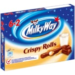 Milky Way Crispy Rolls Waffelröllchen Multipack 6x25g