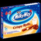 Milky Way Crispy Rolls 6x25g