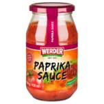 Werder Paprika Sauce ungarische Art 500g