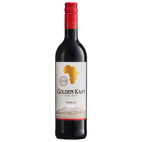 Golden Kaan Rotwein Shiraz Western Cape trocken 0,75l