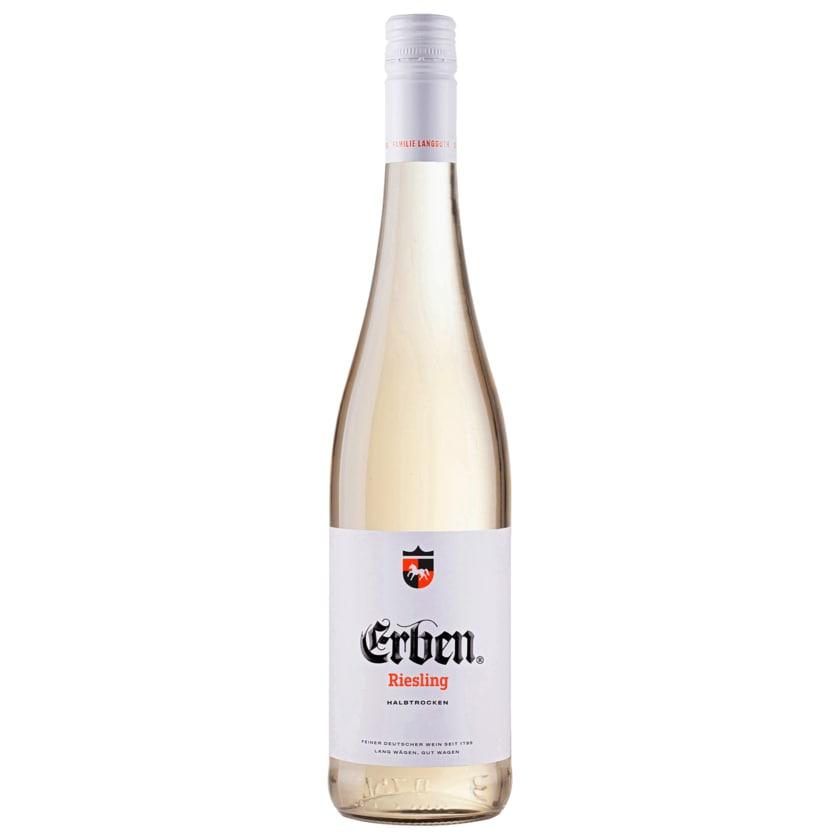 Erben Riesling Weißwein halbtrocken 0,75l
