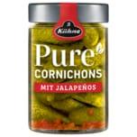 Kühne Pure Cornichons mit Jalapenos 170g
