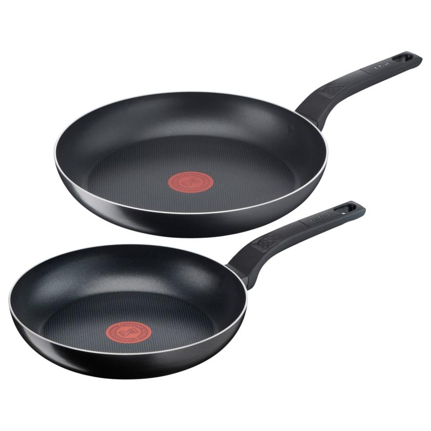 Tefal Pfannen-Set Easy Cook & Clean Ø24, Ø28cm
