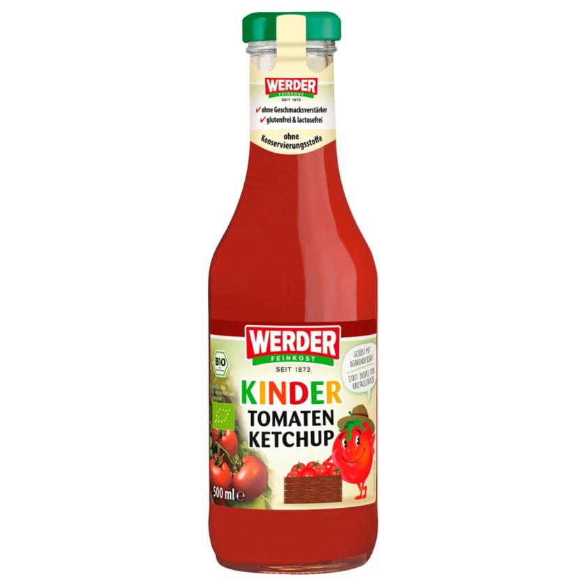 Werder Feinkost Bio Kinder Tomaten Ketchup 500ml