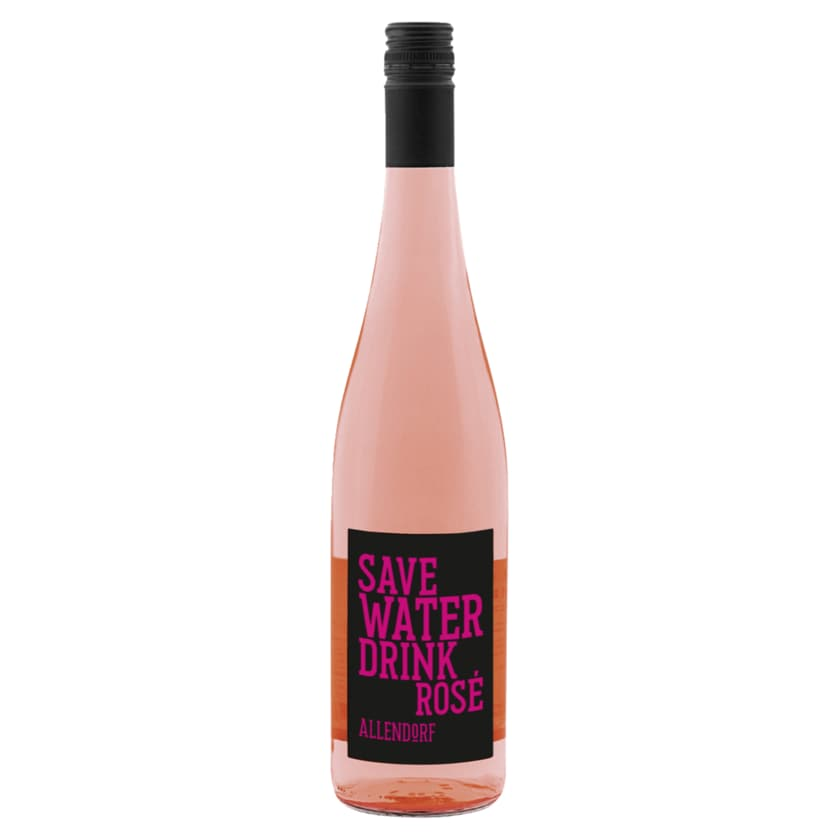 Allendorf Save Water Drink Rosé halbtrocken 0,75l