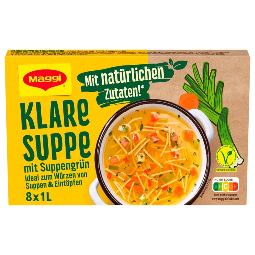 Maggi Klare Suppe mit Suppengrün 168g, ergibt 8x1L