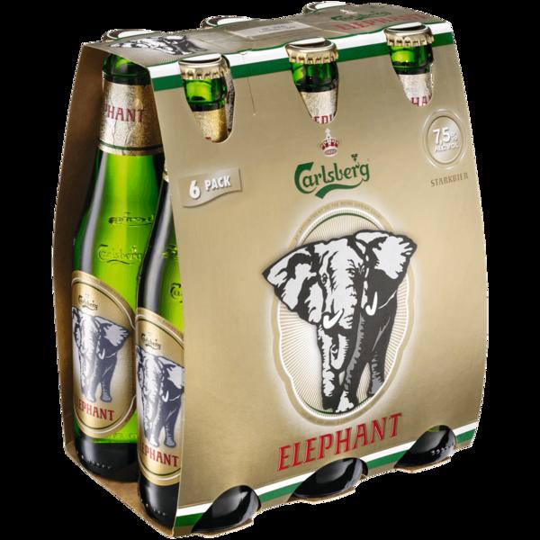 Carlsberg Elephant Beer 6x0,33l