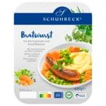 Schuhbeck's Bratwurst mit Mischgemüse und Kartoffelpüree 420g