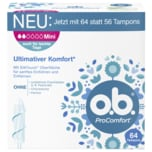 o.b. Tampons ProComfort Mini 64 Stück