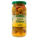 Feinkost Dittmann Spanische Oliven grün mit Paprikapaste 135g