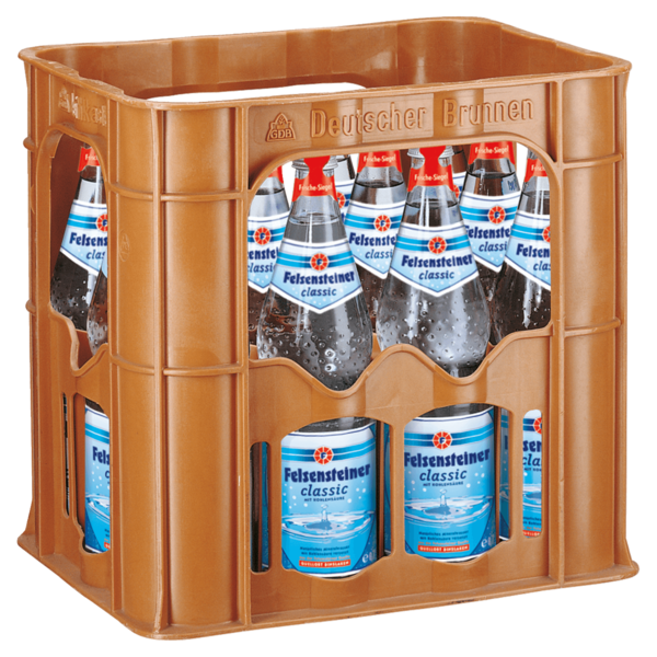 Felsensteiner Mineralwasser Classic 12x0,7l