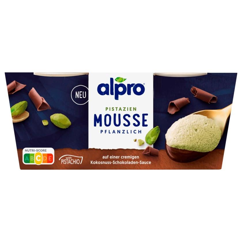 Alpro Pistazien Mousse pflanzlich 2x70g