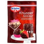 Dr. Oetker Knusper Glasur Dunkel mit Waffel-Crisp 150g