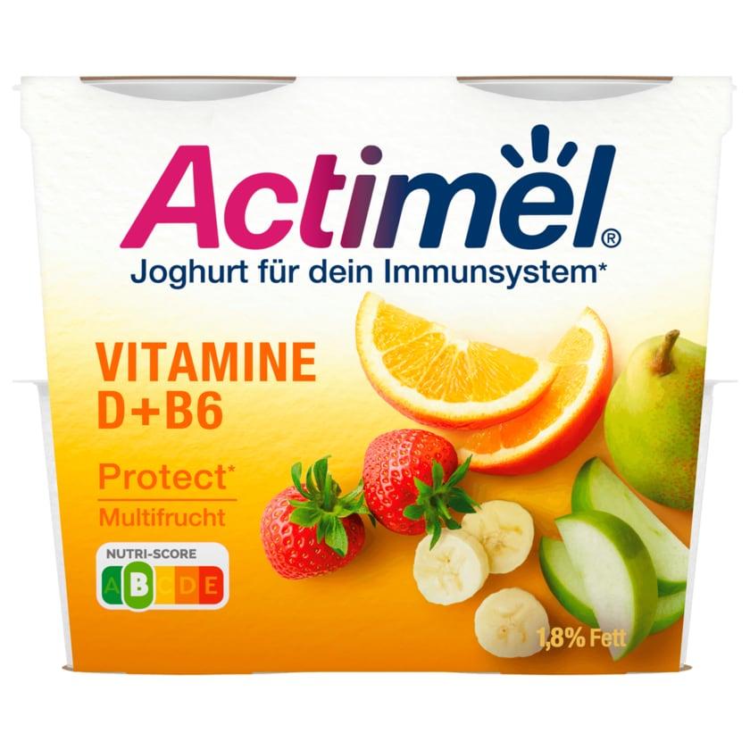 Danone Actimel Joghurt Multifrucht 4x115g