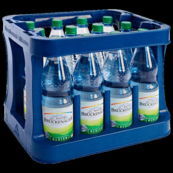 Bad Brückenauer Mineralwasser Medium 12x1l