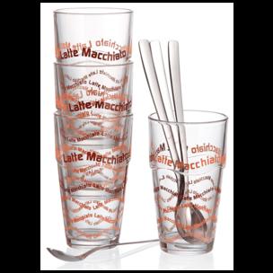 Ritzenhoff & Breker Latte Macchiato Gläser-Set Lena 370ml 4 Stück