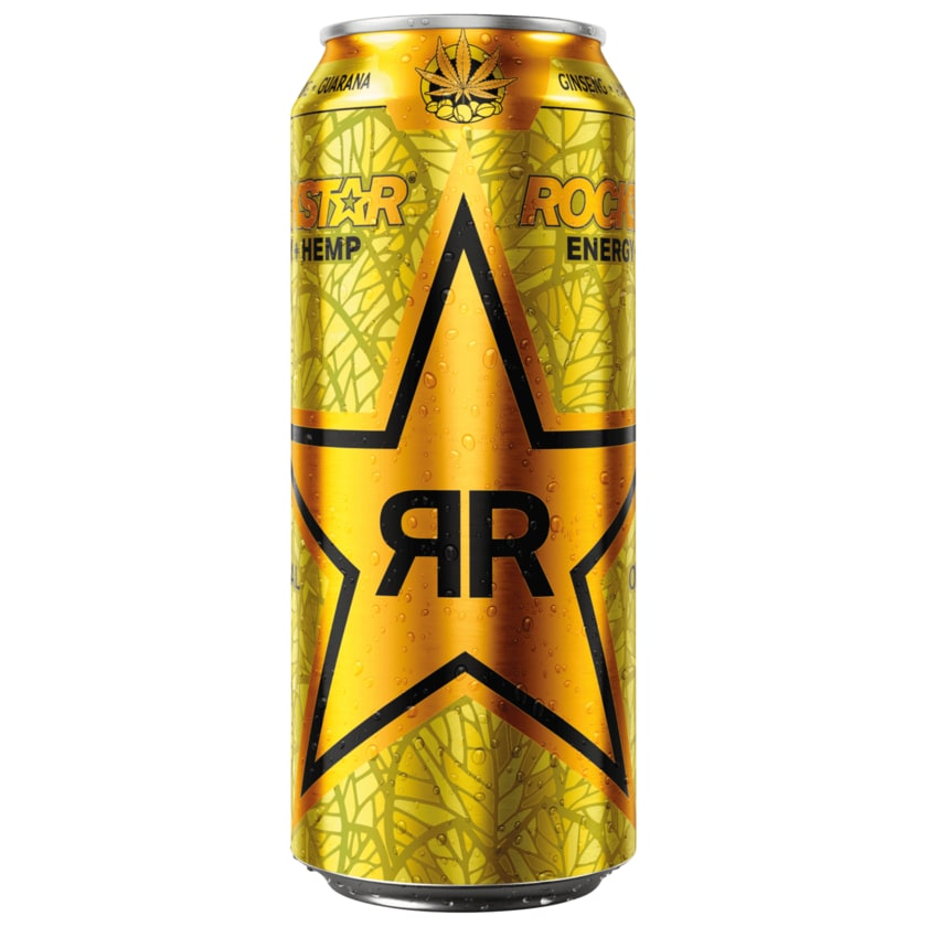 Rockstar Energy + Hemp Original 0,5l