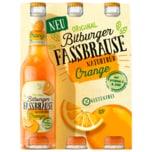 Bitburger Fassbrause Orange naturtrüb alkoholfrei 6x0,33l