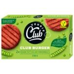 Veggie Club Burger Vegane Patties auf Erbsenbasis 230g