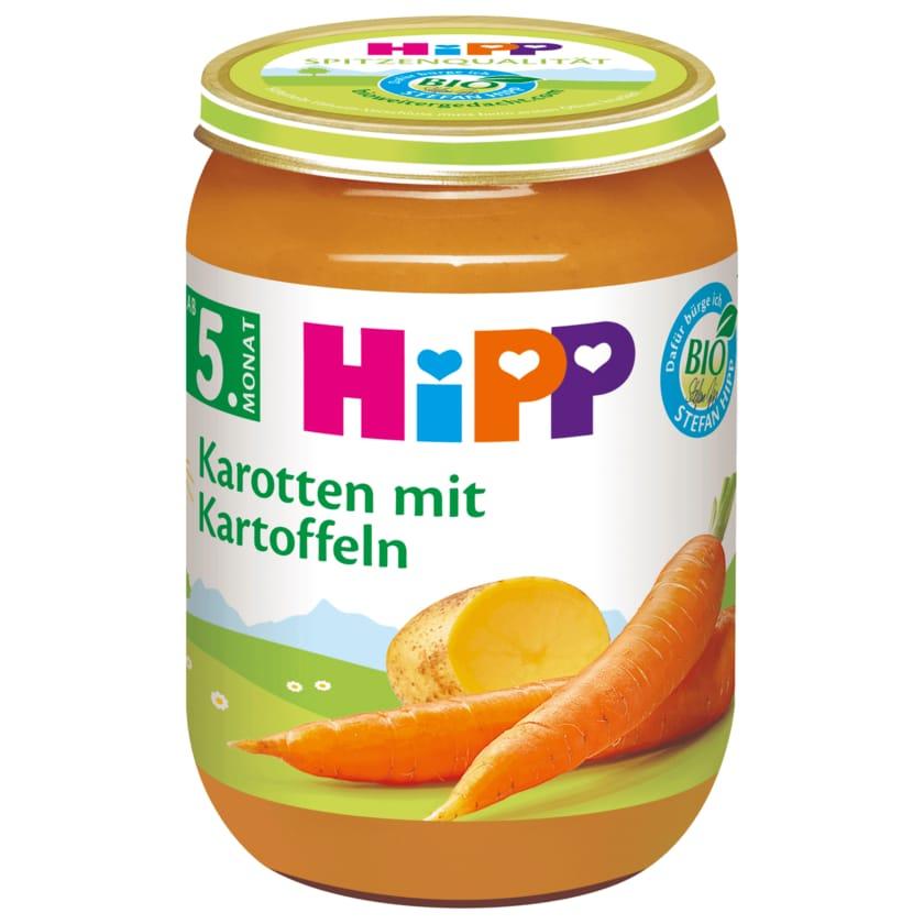 Hipp Bio Früh-Karotten mit Kartoffeln 190g
