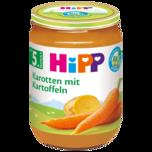 Hipp Früh-Karotten mit Kartoffeln 190g