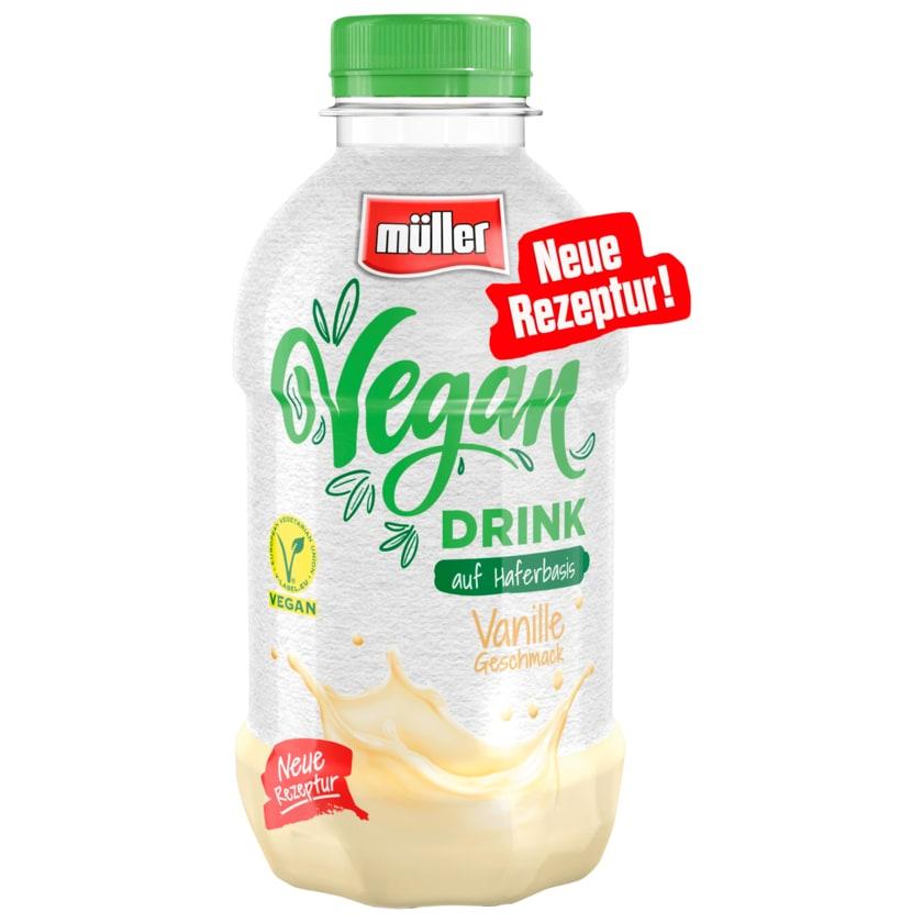 Müller Vegan Drink auf Haferbasis Vanille 400ml