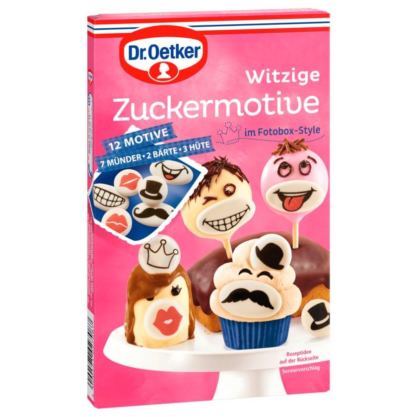 Dr. Oetker Witzige Zuckermotive Fotobox-Style 12 Motive