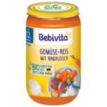 Bebivita Gemüse-Reis mit Rindfleisch 250g