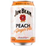 Jim Beam Peach & Ginger Ale 0,33l