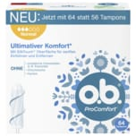 o.b. Tampons ProComfort Normal 64 Stück